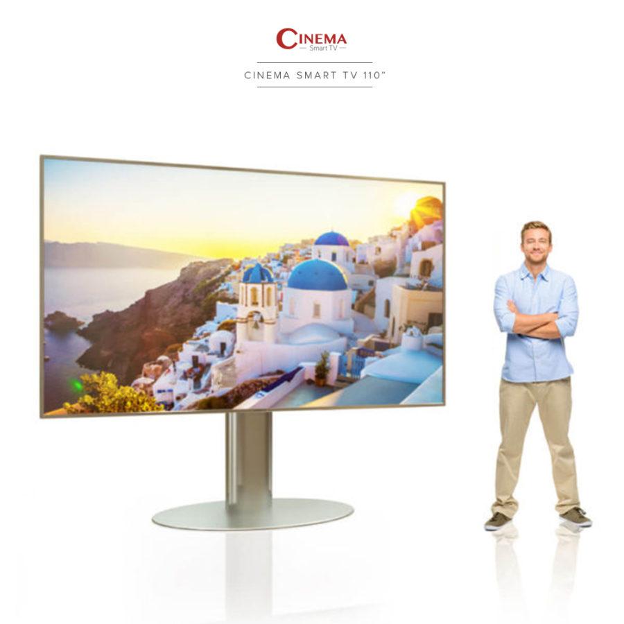 Biggest and smartest cinema TV in the market.